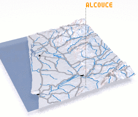 3d view of Alcouce