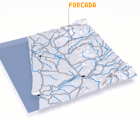 3d view of Forcada