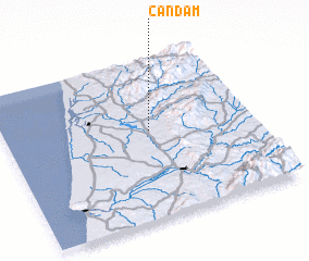 3d view of Candam