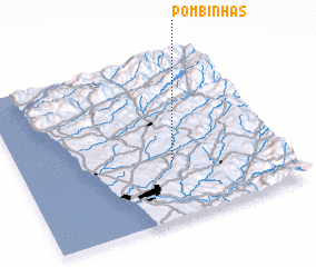 3d view of Pombinhas