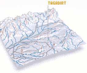 3d view of Tagadirt