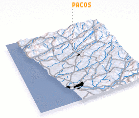 3d view of Paços