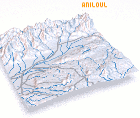 3d view of Aniloul