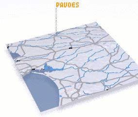 3d view of Pavões