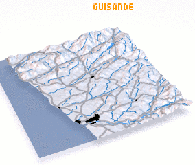 3d view of Guisande