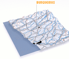 3d view of Burgueiros