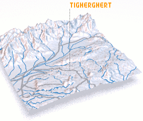 3d view of Tigherghert