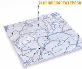 3d view of Aldeia de Santa Teresa
