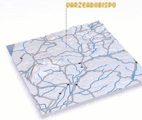 3d view of Várzea do Bispo