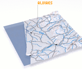 3d view of Alviães