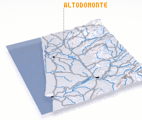 3d view of Alto do Monte