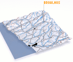 3d view of Broalhos