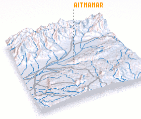 3d view of Aït M'Amar