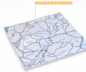 3d view of Mogadouro de Baixo
