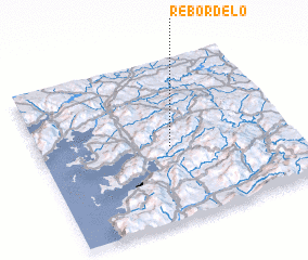 3d view of Rebordelo