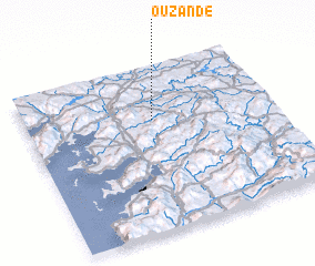 3d view of Ouzande