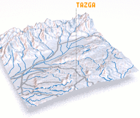 3d view of Tazga