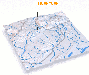 3d view of Tiouayour