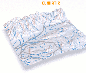 3d view of El M'Hatir