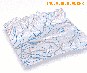 3d view of Timedouine n'Oudrar