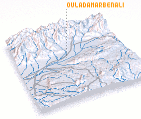 3d view of Oulad Amar Ben Ali