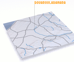 3d view of Douar Oulad Amara
