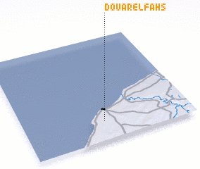 3d view of Douar el Fahs