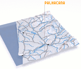 3d view of Palhacana