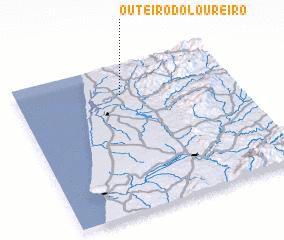 3d view of Outeiro do Loureiro