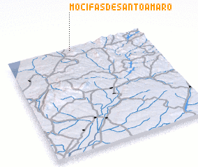3d view of Mocifas de Santo Amaro