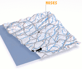 3d view of Moses