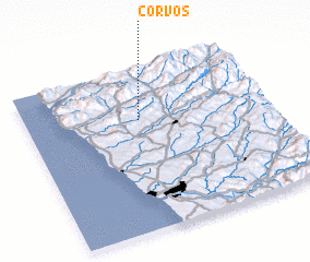 3d view of Corvos