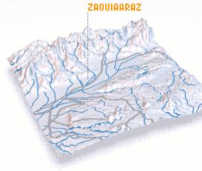 3d view of Zaouia Araz