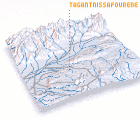 3d view of Tagant n' Issafourene