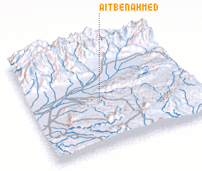 3d view of Aït Ben Ahmed
