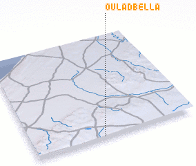 3d view of Oulad Bella