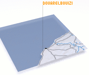 3d view of Douar el Bouizi