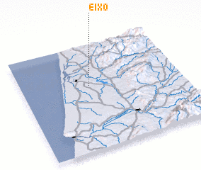 3d view of Eixo