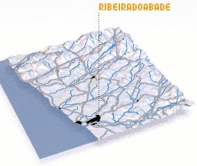 3d view of Ribeira do Abade