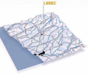 3d view of Lamas