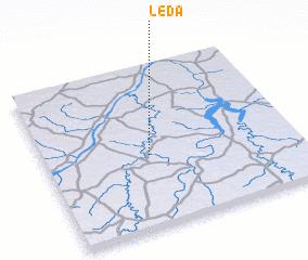 3d view of Léda