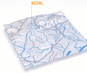 3d view of Azzal