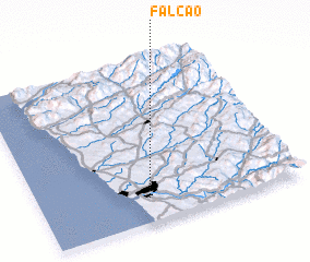 3d view of Falcão