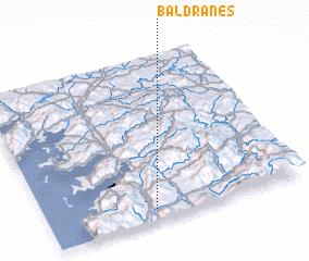 3d view of Baldranes