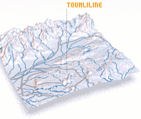 3d view of Toumliline