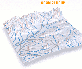 3d view of Agadir Lbour
