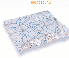 3d view of Oulad Bou Ali
