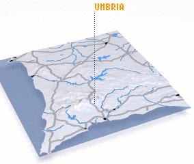 3d view of Umbria