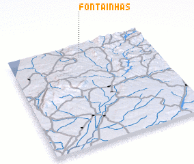 3d view of Fontainhas