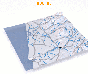 3d view of Avenal